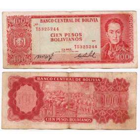 Bolivia Billete De 100 Pesos Bolivianos