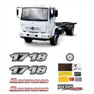Kit Adesivos Mercedes Benz 1718 Top Brake Eletrônico Krt117