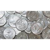 Moneda 25 Centavos Ó Quarter De Dollar Varios Años Prenguta