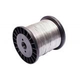 Carretel Arame Aço Inox Cerca Elétrica Fio 0,45mm