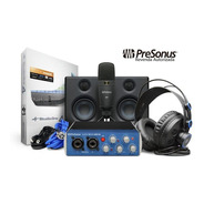 Kit Interface Presonus Audiobox 96 Mic Fone Revenda Oficial