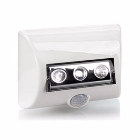 Kit 10 Luminária Led Nightlux Com Sensor De Presença Osram