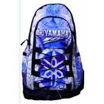 Mochila Moto Gama Yamaha Gytr Viaje Camping Atv Sky Nieve