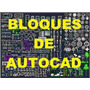 10.000 Blocos Livrarias Autocad Desenhos 3d - 2d