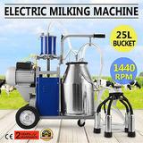 25 L Eléctrico Máquina De Ordeño Para Vacas De Granja 550w
