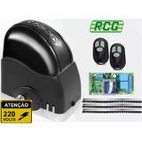 Kit Motor Portão Automático Eletrônico 1/4hp 220v - Rcg