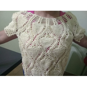 Remera Tejida A Mano Crochet