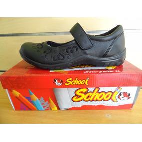 Zapato Colegial Negro Sifrinas Tallas 37 Al 40 Modelo 218