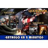 God Of War Collection 1 Y 2 Ps3 Entrega Inmediata