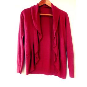 Sweaters, Chaleco. Color Ladrillo. Marca Epilogo