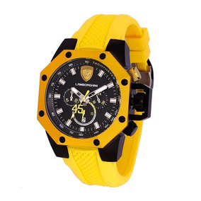 Relógio Masculino Lamborghini Lb90002669m - Coleção Huracan