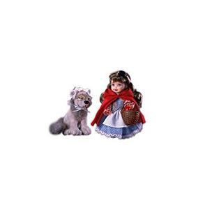 Juguete Barbie Kelly Caperucita Roja Y El Lobo