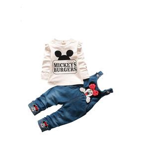 Macacão Jardineira Body Roupas Infantil Crianças Jeans Calça