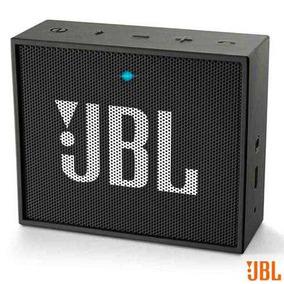 Caixa Bluetooth Jbl Go Black Com Potência De 3 W - Jbl