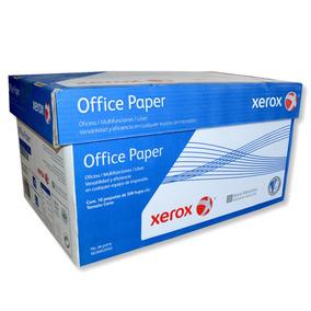 Papel Bond Xerox Tamaño Carta Blanco Caja 5000 Hojas