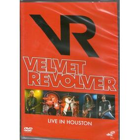 Dvd Velvet Revolver - Live In Houston - Novo***