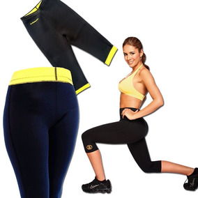 Leggins Reductores Hot Con Faja Termica Shapers