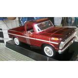 Camioneta For F 100 Scale 1/24 De Collection Mol 1969