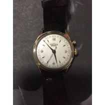 Reloj Vulcain Cricket Alarm En Oro De Colección