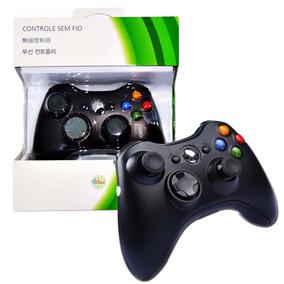 Controle Para Xbox 360 Sem Fio Garantia Novo Promoção Barato