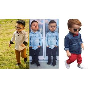 Calça Infantil Jeans Menino Colorida 1 2 3 Anos