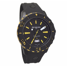 Reloj Nivada Np11202mneyi Caballero Skymaster Caucho