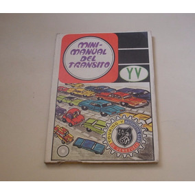 Mini Manual Tránsito De Touring Y Automovil Club Vzla 70s
