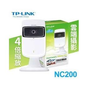 Tp-link Câmera Ip Cloud Nc200 Wifi 300mbps Lançamento