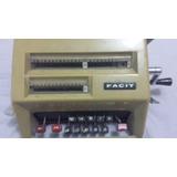 Máquina Antiga De Calcular Da Marca Facit (funcionando)