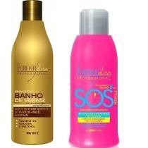 Forever Liss Sos 300ml + Shampoo Banho De Verniz 500ml