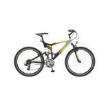 Bicicleta R26 Altay Preto/prata 21m - Fischer