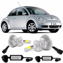Kit Xenon Super Led New Beetle 2000 / 2012 Farol Baixo H7