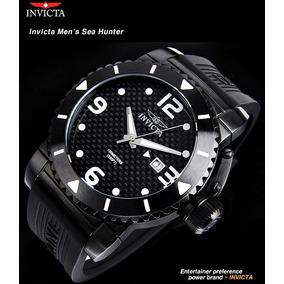 3234dcaebd4 Relógio Invicta 6707 Sea Spider Vermelho Preto Poliuretano ...