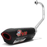 Escapamento Pro Tork Esportivo Moto Cg Titan Fan 125 2014 Ks