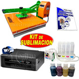 Kit Sublimacion Estampadora 40x60+xp211 Tinta +papel Moritzu