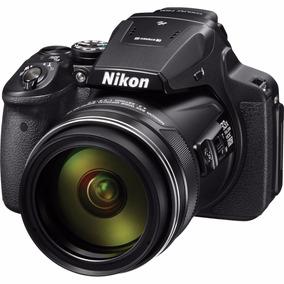 Nikon P900 Coolpix 16mp 83x Zoom Wifi Full Hd Gps Fact A O B