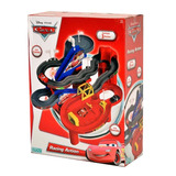 Pista Cars Racing Action + 3 Autos Mate Rayo Mcqueen Ditoys
