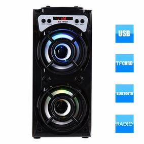 Caixa De Som Ms-144bt Com Bluetooth / Rádio Fm / Entrada Usb
