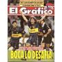 El Gráfico 3877 - Manteca Martinez - Polilla Da Silva - Boca