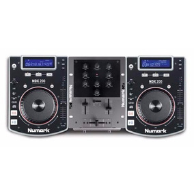 Numark Dj Kit In A Box 2cdj+mixer+fone Novo Na Caixa