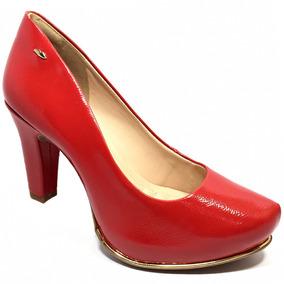c10fca67d7 Sapatos Vernizados Feminino Dakota - Scarpins para Feminino Vermelho ...