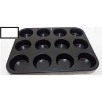 Forma Para Cupcake 12 Cavidades Antiaderente