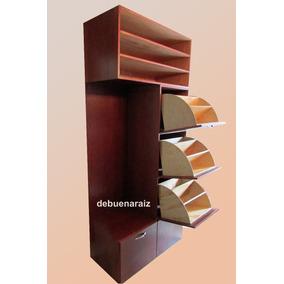 Zapateras madera minimalista en mercado libre m xico for Mueble zapatera hasta 32 pares zapatos