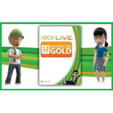 Suscripción Xbox Live Gold 12 Meses 1 Año Solo Cuenta Eeuu