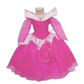 Disfraz Vestido Bella Durmiente Aurora Varias Tallas