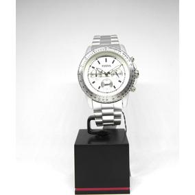 Reloj Fossil Para Caballero Nuevo Original Aluminio Chrono!!