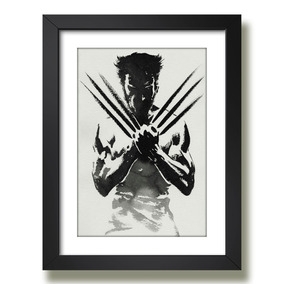 Quadro Wolverine X-men Filme Serie Tv Arte Decorativo Quarto