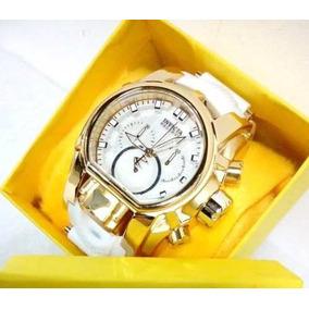 54e926b14e6 Zeus Branco Masculino Invicta - Relógios De Pulso no Mercado Livre ...