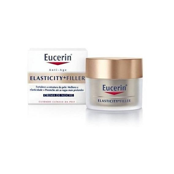 Eucerin Elasticity + Filler Crema Noche Elasticidad Relleno