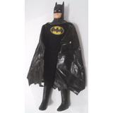 Boneco Batman Mego 1989 Roupa De Tecido